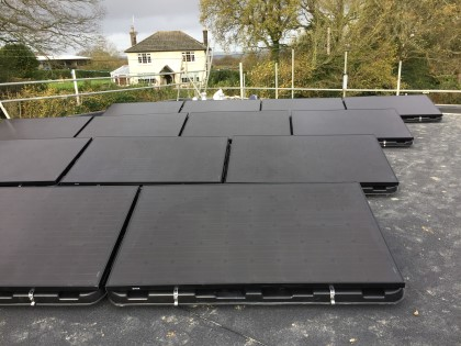 All Black PV modules