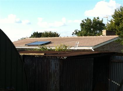 Domestic Solar Thermal New Build in newmarket Essex