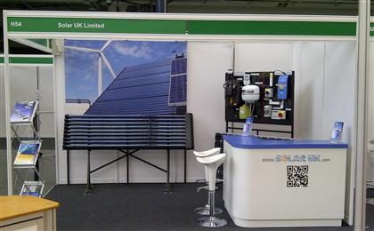 Solaruk Stand At Olympia