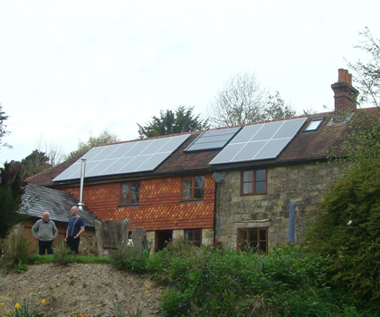 Solar PV at Crowborough
