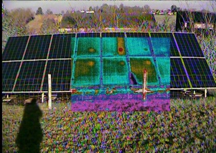 Thermal Image diagnostic for Solar PV panels