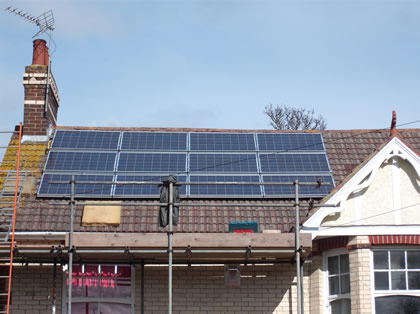 Domestic Solar Electric PV Panels in East Sussex