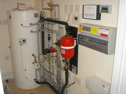 Hot Water Cylinder - Solar hot water storage